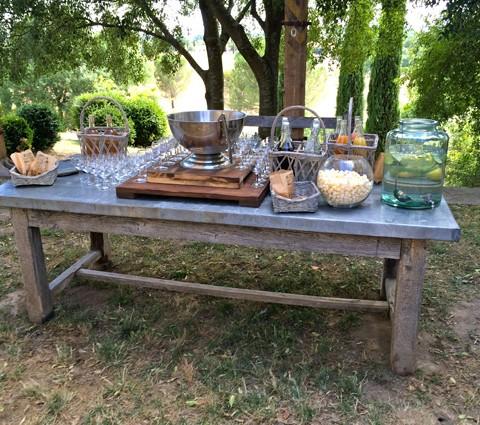 Grande table conviviale